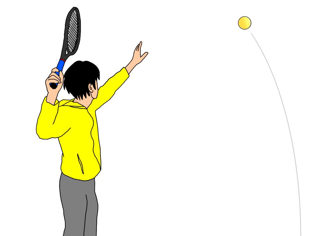 テニスのグランドスマッシュを打つときの注意点