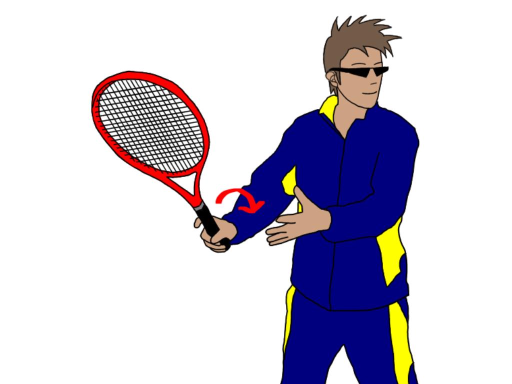 テニスのグランドストロークでグリップの握りを変えたら気をつけること
