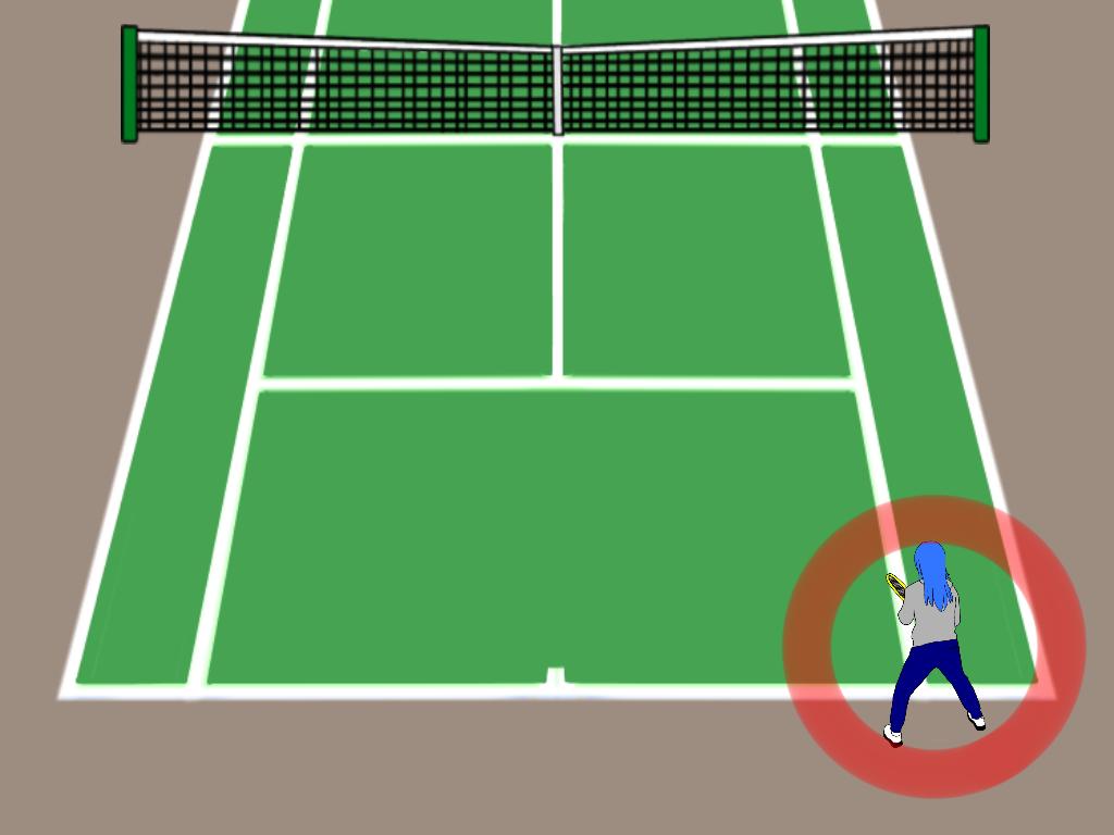 テニスの雁行陣で後衛が意識したい3つのこと