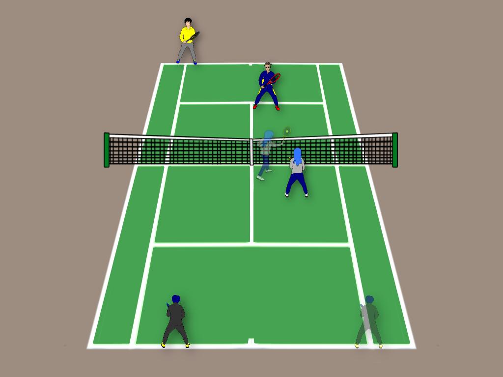 テニスのダブルスでポーチをするときに気をつけたい3つのこと