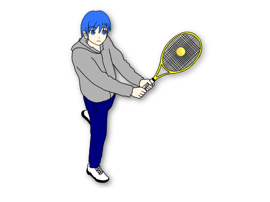 テニスのグランドストロークでジャックナイフはどんなときに使う?
