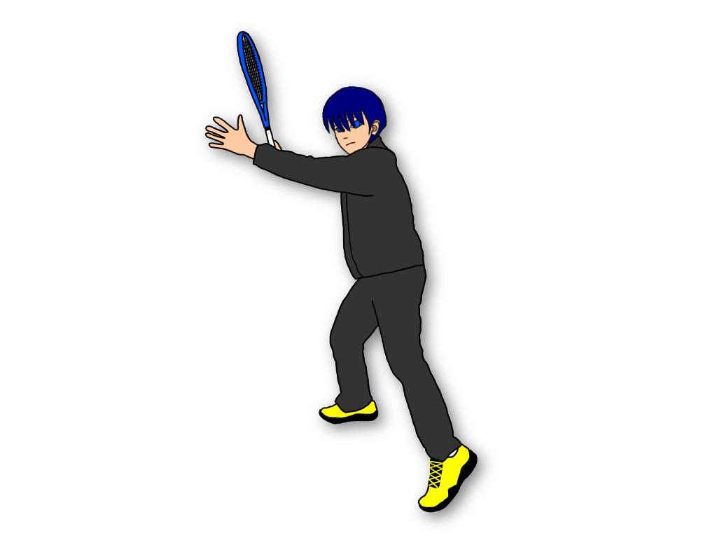 テニスのドロップショットを打つときは演技力が大切