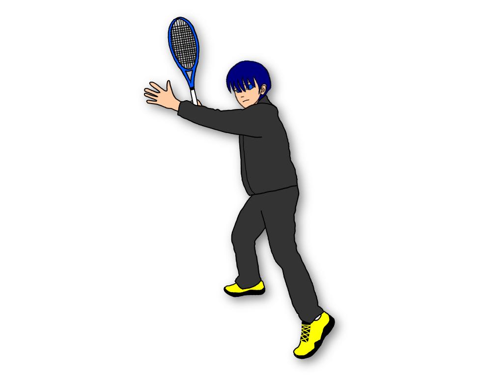 テニスのドロップショットを打つには練習量が必要