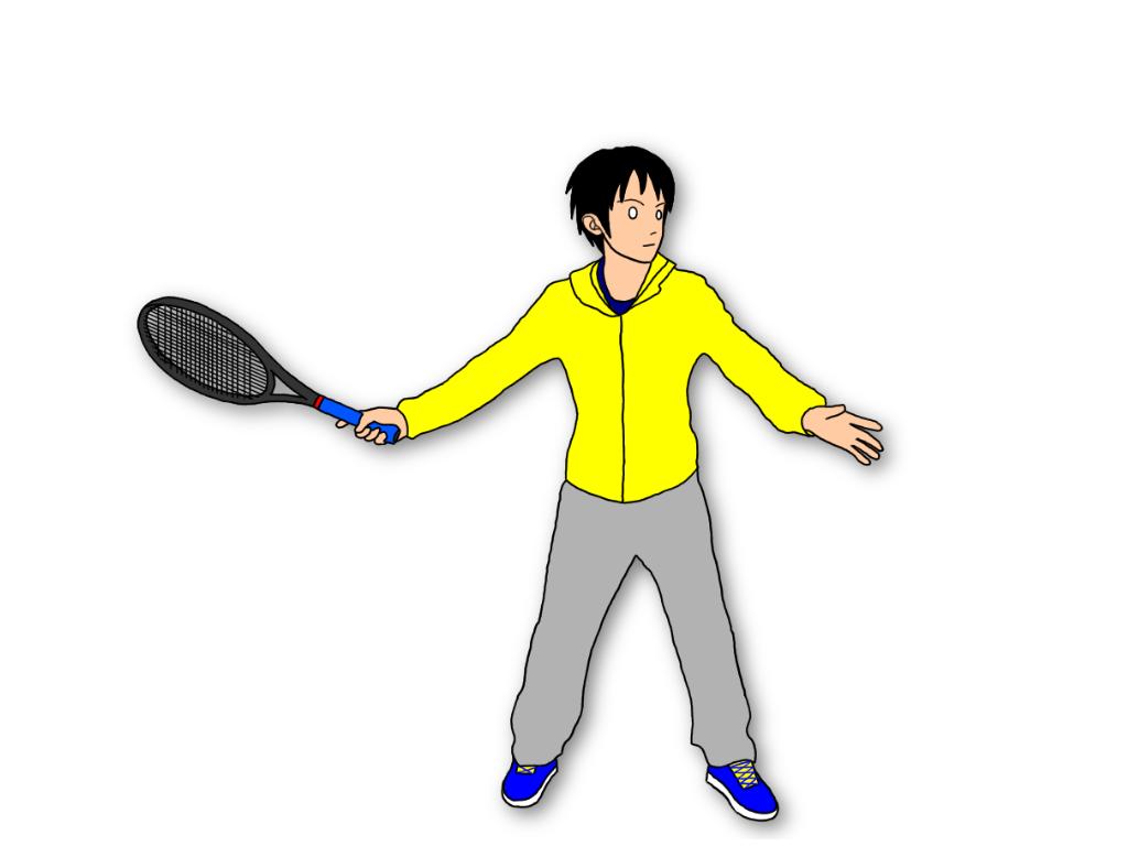テニスのグランドストロークのテイクバックはどんな方法があるか ...