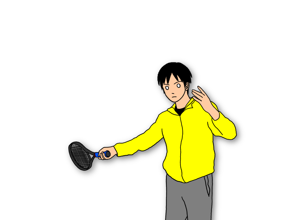 【グランドストロークのドリル】ネットの近くでトス打ち練習するやり方
