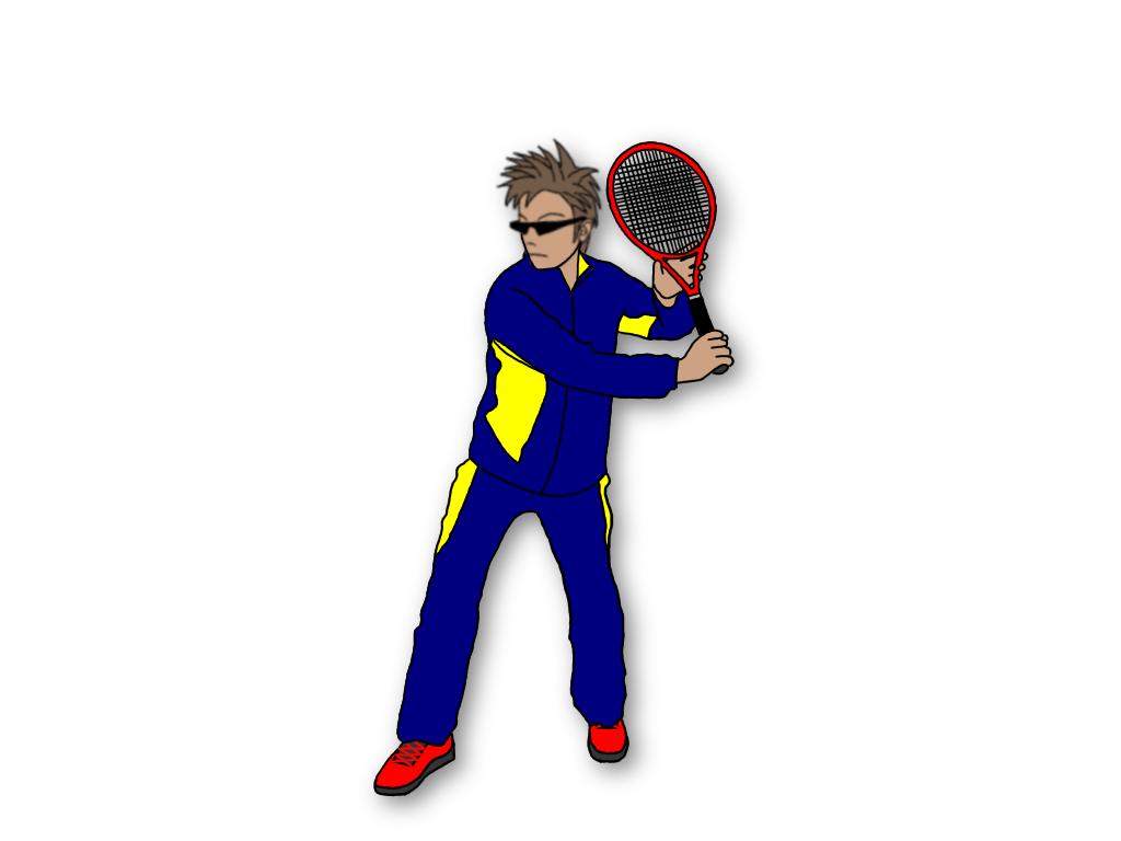 テニスのグランドストロークで厚くボールをとらえるならラケットダウンしない