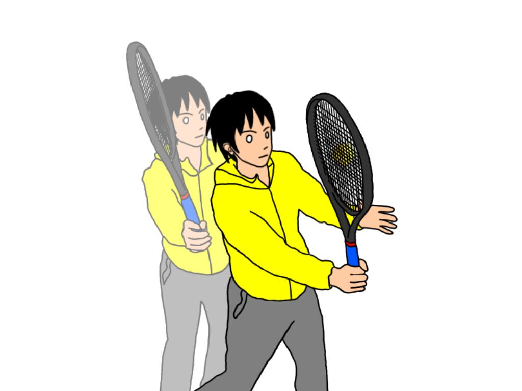 「グリップでテニスボールをボレーしてみる」ドリルをやるとどうなるか?