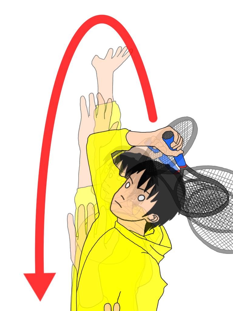 「壁に沿って肘で弧を描くドリル」を習慣にしよう