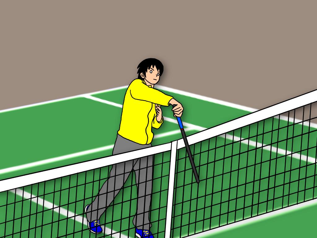 ボールの真上をとらえて地面に叩きつけるドリルの効果