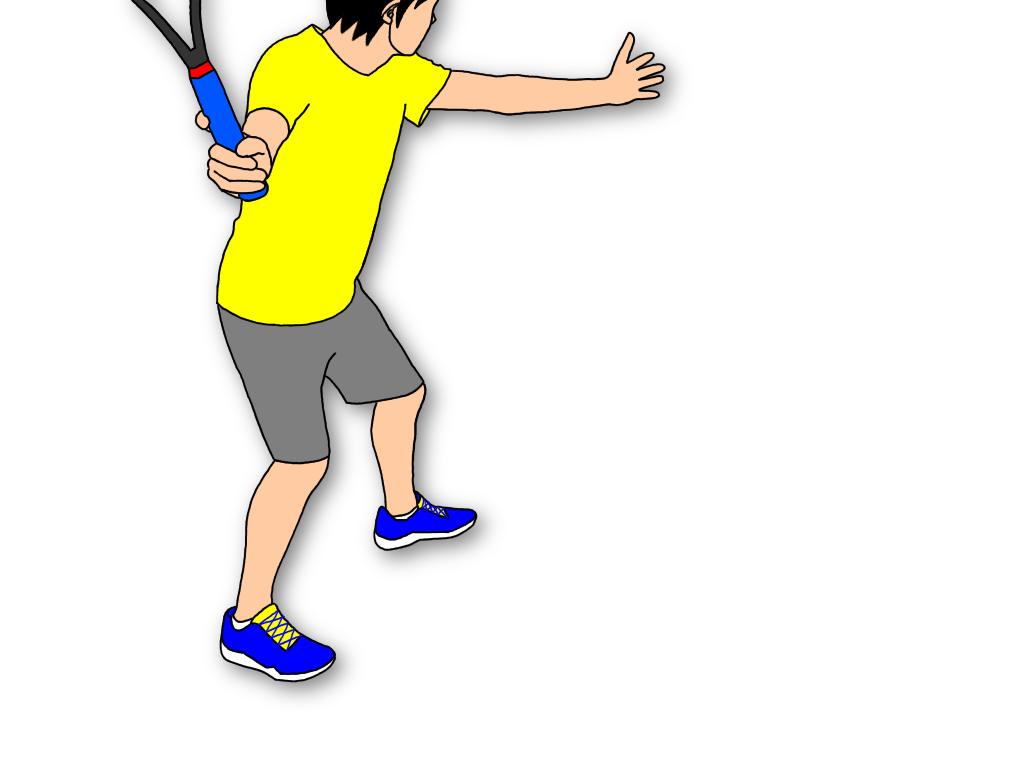 テニスのフォアハンドストロークがクローズドスタンスで気持ちよく打てた理由<