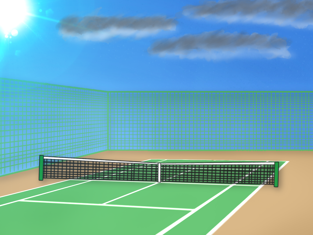 アウトドアテニススクールの長所と短所