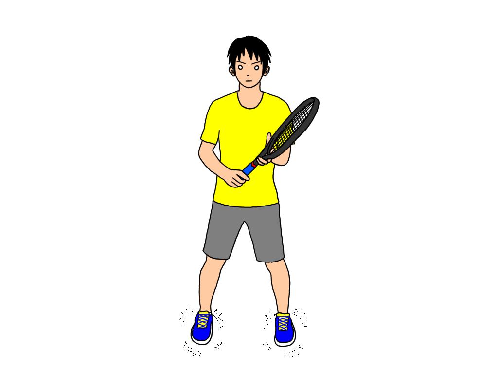 テニスのスプリットステップのコツ【4つの悪い例から学ぶ】