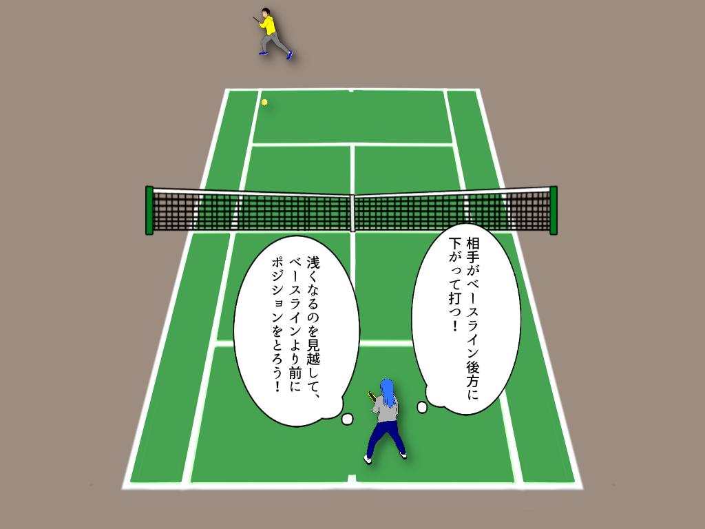 テニスの試合に出るならこれも見ておきたい!ボール以外に見るもの【応用編】