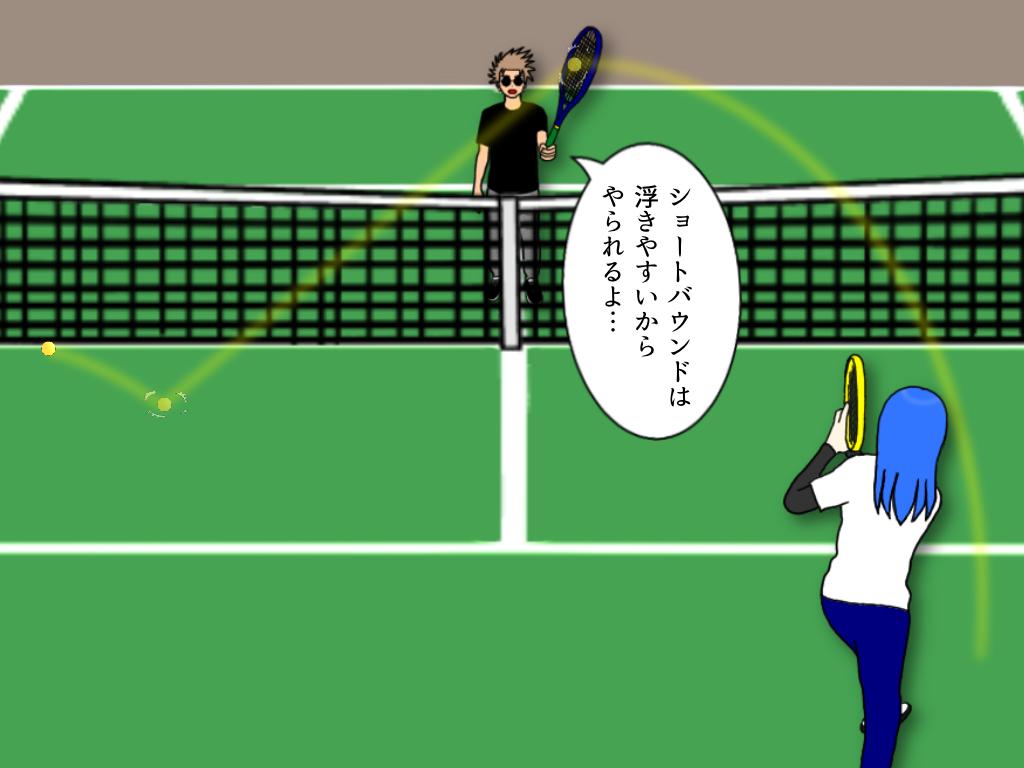 テニスのショートバウンドのコツ【グランドストロークが楽になる】