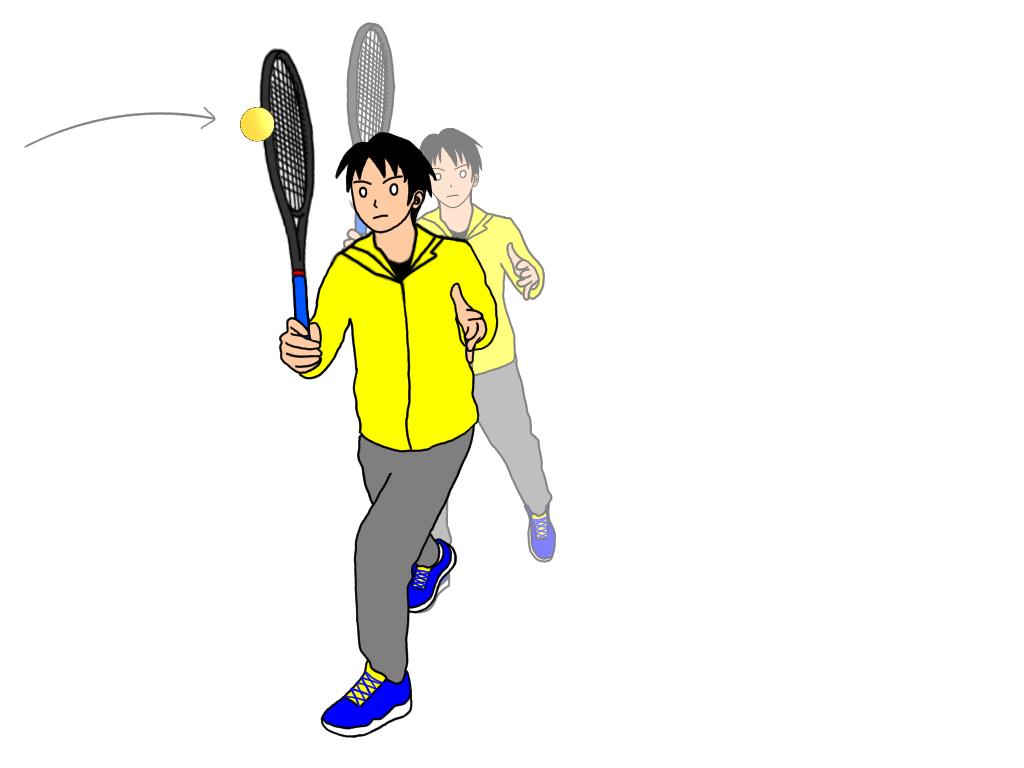テニスのアングルボレーの練習方法【3ステップで簡単に覚える】