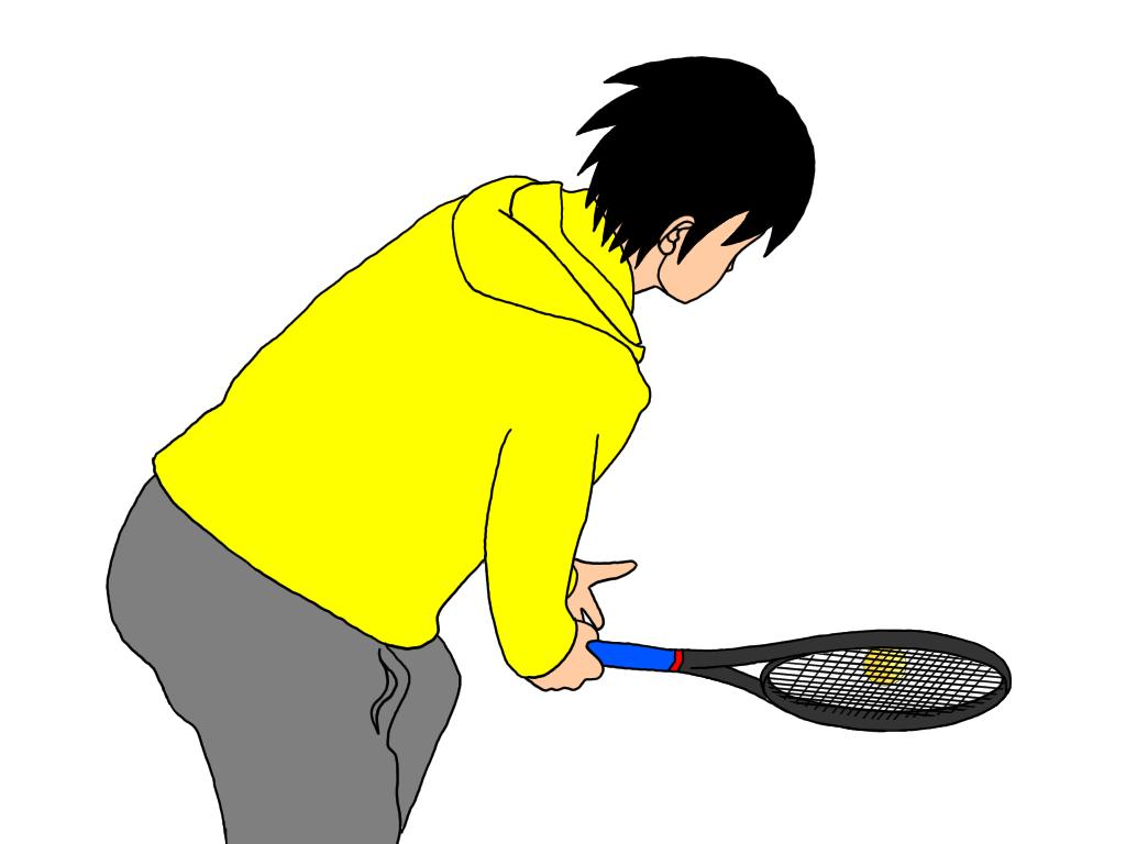 テニスのアングルボレーとストレートに打つボレーの違い