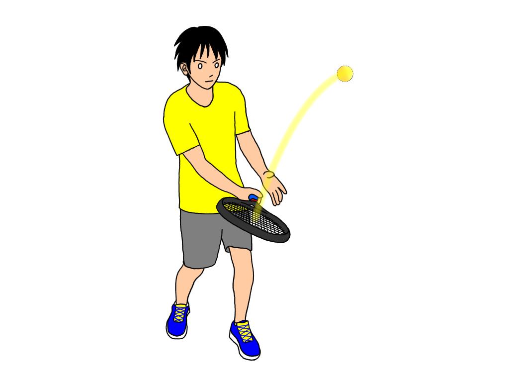 【テニスのボレー練習】ダブルヒットボレーボレー(ワンクッションボレーボレー)
