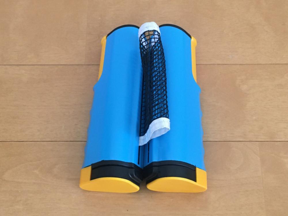 卓球を自宅で楽しめる【ポータブル卓球ネット】テーブルが卓球台に早変わり!